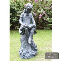 See more information about the Daphne 89cm Garden Ornament Statue Lead