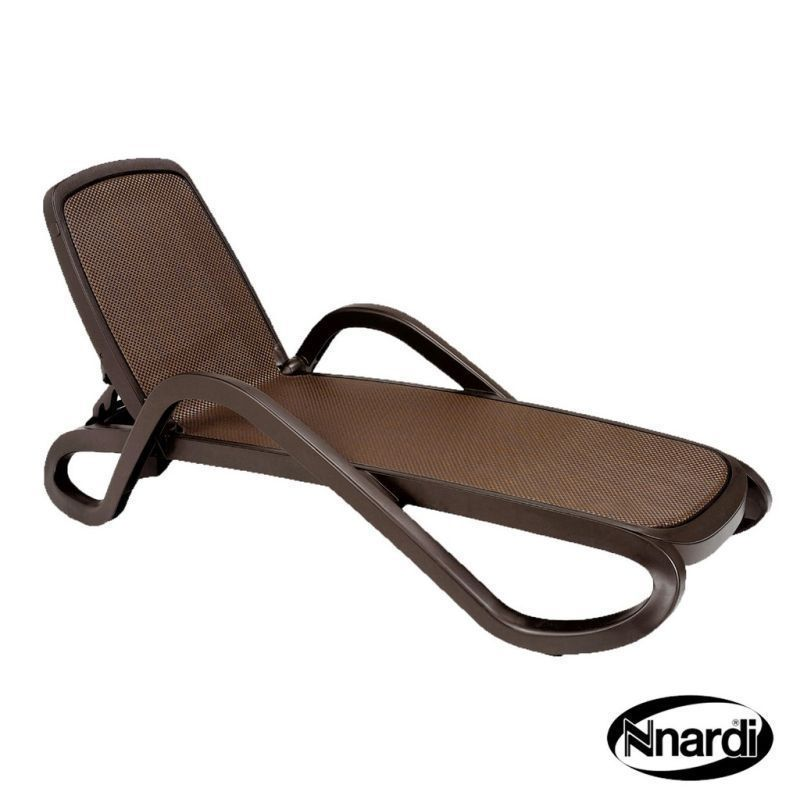 Nnardi Alfa Garden Lounger Coffee