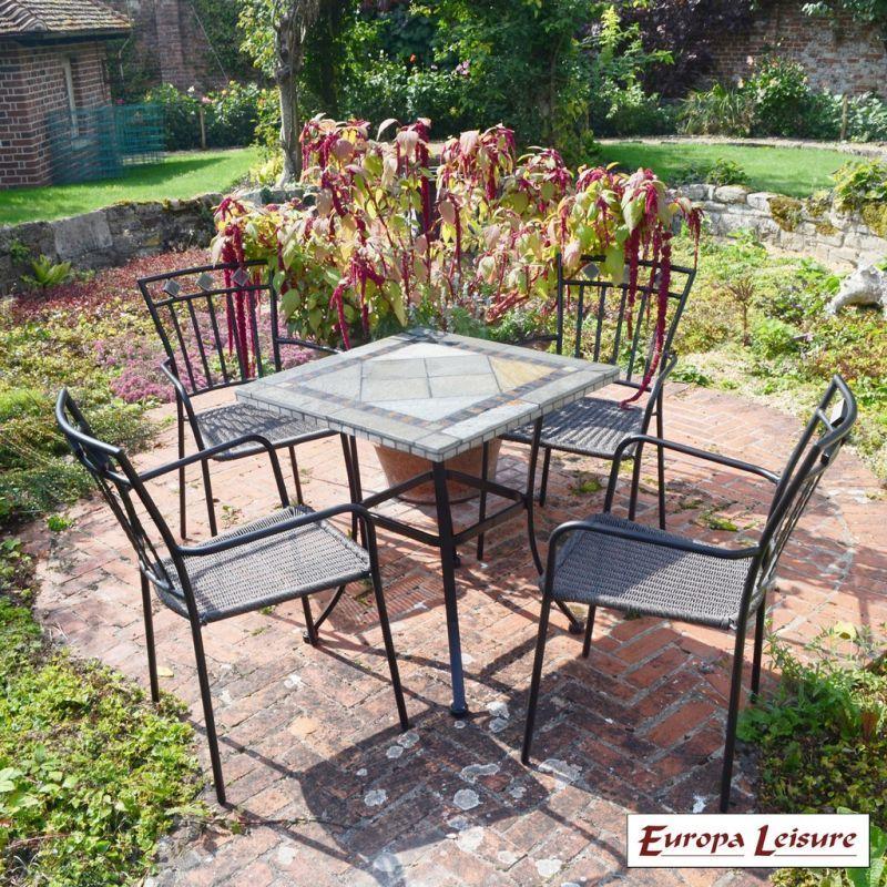 Garden Furniture Store: Vinaros Garden Furniture Set & 4 Murcia Chairs