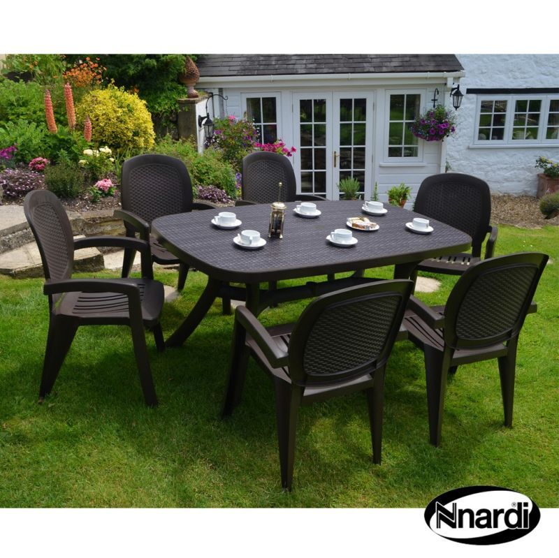 Toscana 165 Garden Furniture Set Wicker 6 Coffee Creta Wicker Chairs Buy Online At Qd Stores