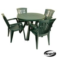 See more information about the Nnardi Toscana 100 Garden Furniture Set (Supplied with 4 Green Diana Chairs)