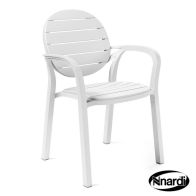 See more information about the Nnardi Palma Outdoor Garden Chair White