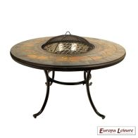 See more information about the Durango Fire Pit Garden Table - Coffee