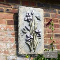 See more information about the Lilac Bud Flower Garden Ornament Plaque