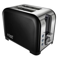 See more information about the Russell Hobbs Canterbury 2 Slice Toaster - Black