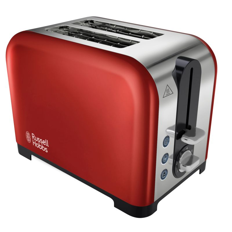 Russell Hobbs Canterbury 2 Slice Toaster - Red