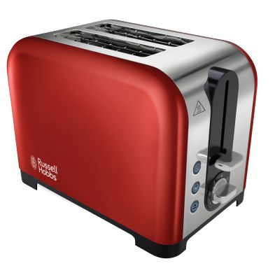 Image of Russell Hobbs Canterbury 2 Slice Toaster - Red