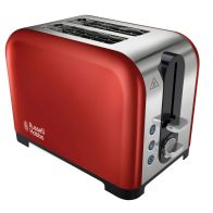 See more information about the Russell Hobbs Canterbury 2 Slice Toaster - Red