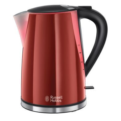 Image of Russell Hobbs 1.7 Litre Mode Kettle 3KW - Red