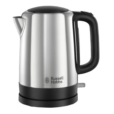 Image of Russell Hobbs 1.7 Litre Canterbury Polished Kettle 3KW - Black