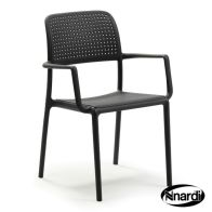 See more information about the 2 Pack Bora Outdoor Garden Chairs Anthracite