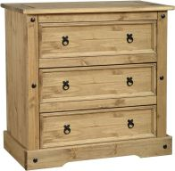 See more information about the Corona 3 Drawer Chest