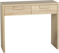 See more information about the Cambourne 2 Drawer Dressing Table - SONOMA OAK
