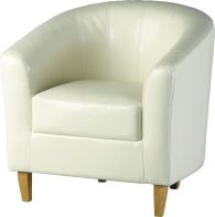 See more information about the Tempo Tub Chair - CREAM