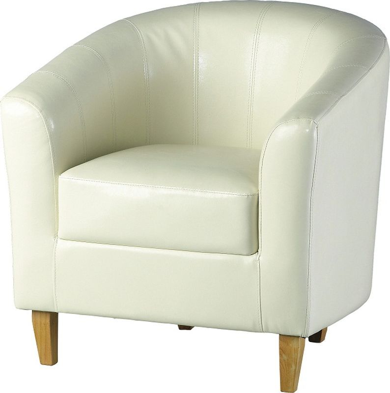 Tempo Tub Chair - CREAM