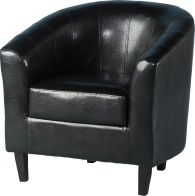 See more information about the Tempo Tub Chair - BLACK