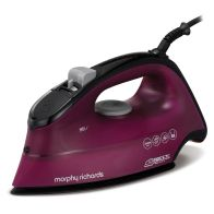 See more information about the Morphy Richards Breeze Ceramic Steam Iron 2.6KW - Purple Black