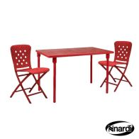 See more information about the Zic Zac Garden Furniture Spring Set Red (Supplied with 2 x chairs)