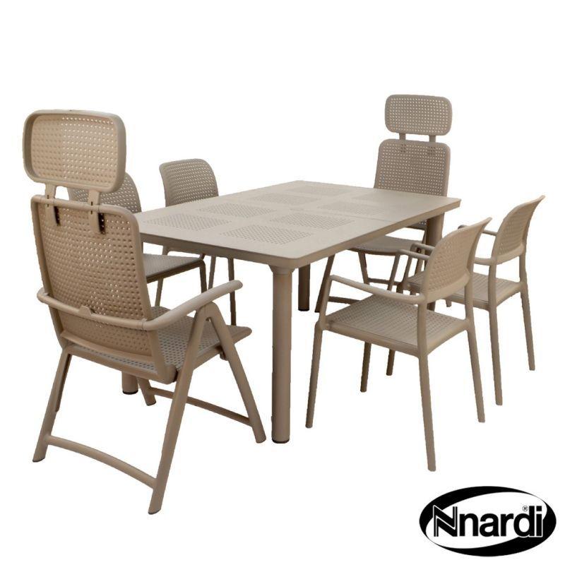 Libeccio Garden Furniture Set Turtle Dove 6 Chairs Buy