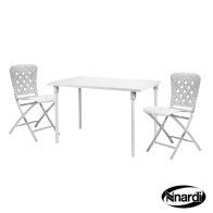See more information about the Zic Zac Garden Furniture Spring Set White (Supplied with 2 x chairs)