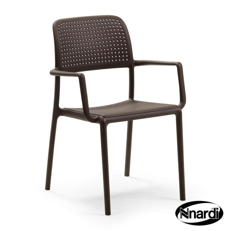 Nnardi 2 Pack Bora Chair Coffee
