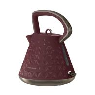 See more information about the Morphy Richards 1.5 Litre Prism Textured Kettle 3KW - Merlot