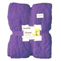 See more information about the Purple Jumbo Throw 200 X 250