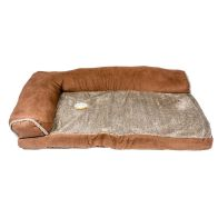 See more information about the Suede Corner Pet Bed Brown