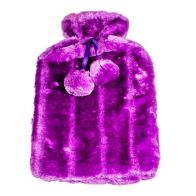 See more information about the Hot Water Bottle Fur Cover 2L (Purple)