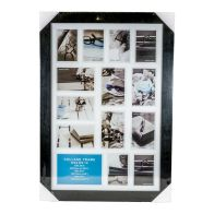 See more information about the Collage Photo Frame 14 Openings (Black)
