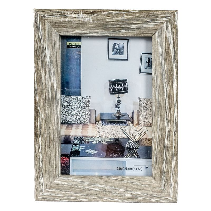 Photo Frame 4x6inch (Grey Wood Wash)