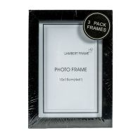 See more information about the Photo Frame 4x6inch 3 Pack (Black)