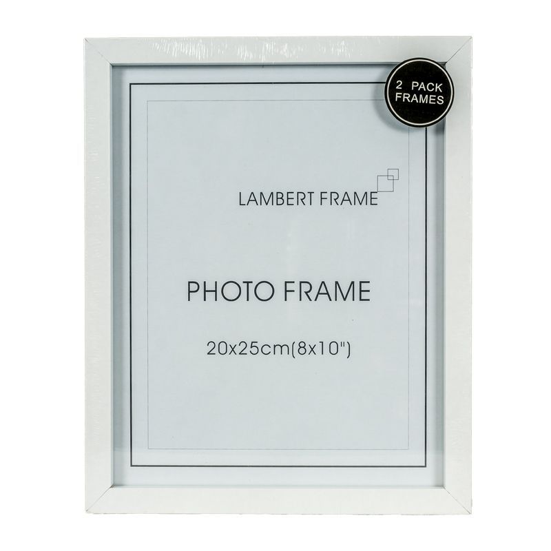 Photo Frame 8x10inch 2 Pack (White)