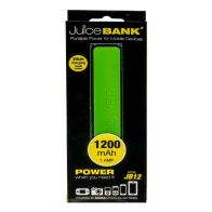 See more information about the Power Bank Charger 1200mAh (Lime Green)
