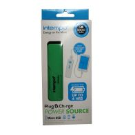 See more information about the Intempo Power Bank Source - Green