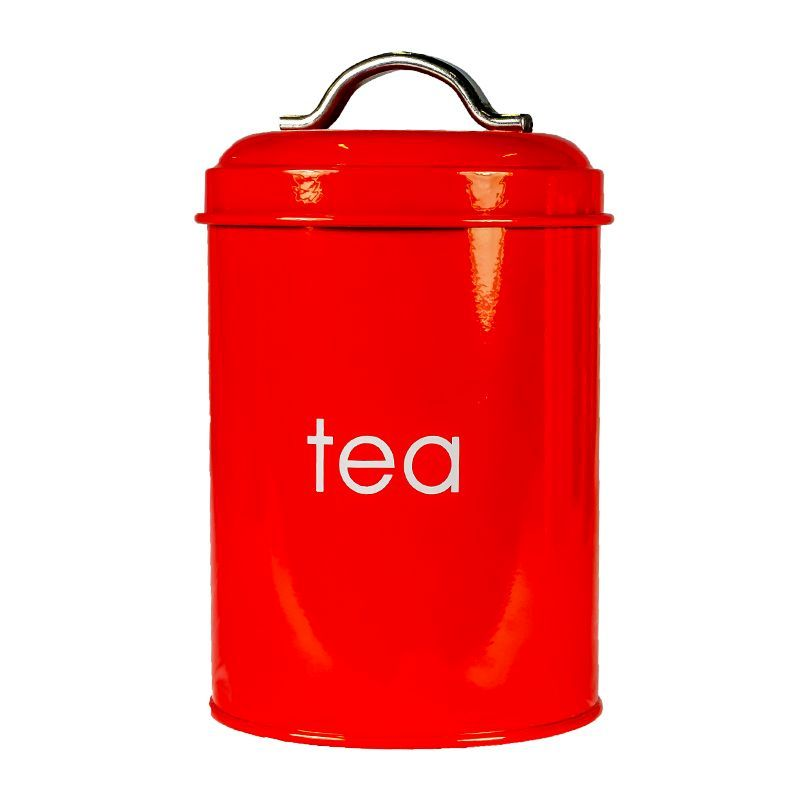 Kitchen Cannister Tea (Red)