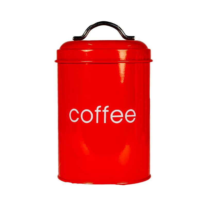 Kitchen Cannister Coffee (Red)