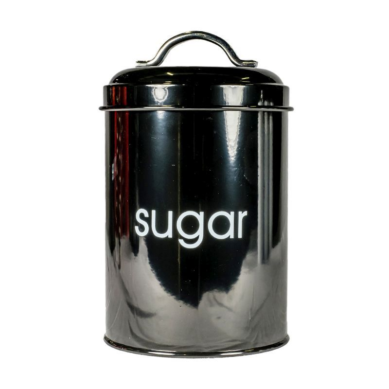 Kitchen Cannister Sugar (Black)
