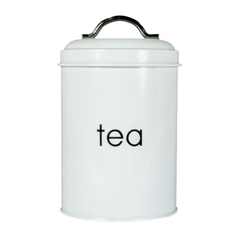 Kitchen Cannister Tea (White)