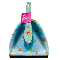 See more information about the Printed Dustpan and Brush Set (Blue)