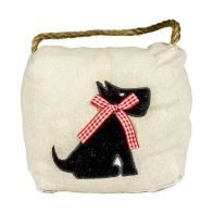 See more information about the Applique Cube Door Stop Dog