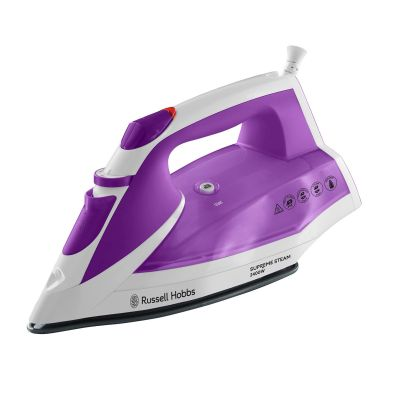 Image of Russell Hobbs Supreme Steam Iron 2.4KW - Purple