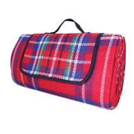 See more information about the Waterproof Picnic Rug (1.5 x 1.3m) - Red
