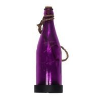 See more information about the Hanging Glass Bottle Solar Light (Assorted colours)