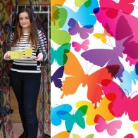 See more information about the Magic Printed Magnetic Door Mesh - Butterfly