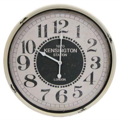 Railway Iron Wall Clock 51cm Diameter