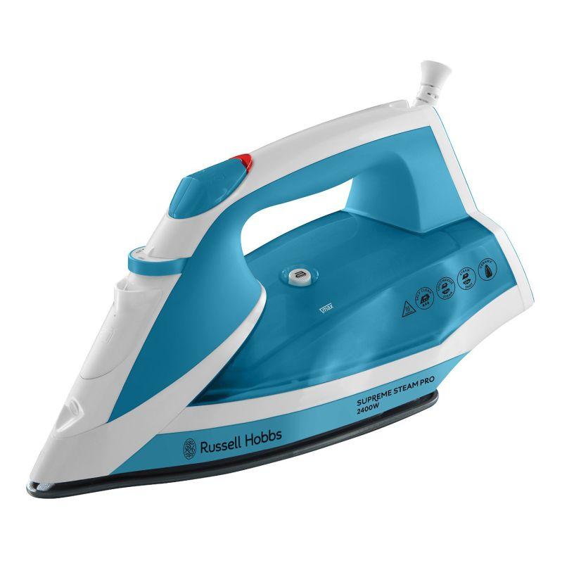 Russell Hobbs Supreme Steam Iron 2.4KW - Blue White