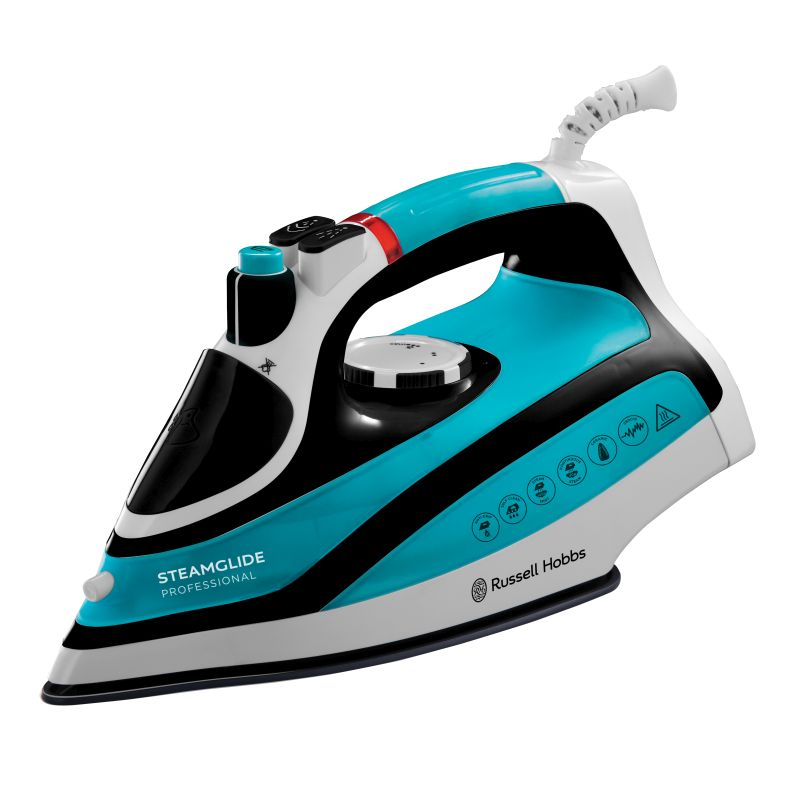 2600w russell hobbs steamglide iron buy online at qd stores. Black Bedroom Furniture Sets. Home Design Ideas