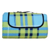 See more information about the Fleece Picnic Blanket 125cm x 150cm (Blue & Green)