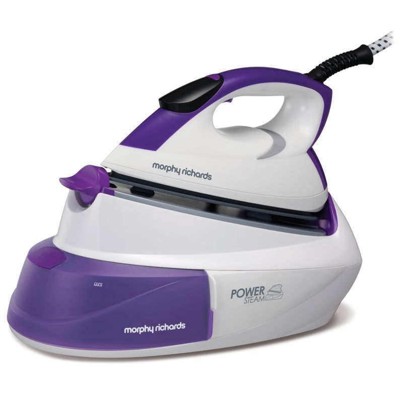 Morphy Richards Power Steam Intellitemp Steam Generator 2.6KW - Purple